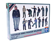 WWII German panzer soldiers, set 1 - 1:72e - Orion - ORI72045