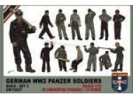 WWII German panzer soldiers, set 2 - 1:72e - Orion - ORI72047