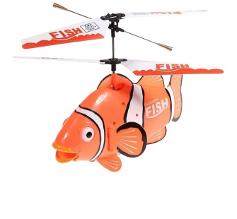 Helico RC Poisson Clown Bi-rotor - FXD-A68694