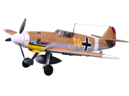 Bf-109 XL V2 Famous (Marron) PNP 1400mm - FMS-FMS046BR