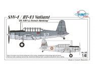 SNV-1/BT-13 Valiant - 1:48e - Planet Models - 129-PLT245