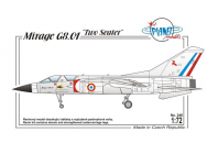 Dassault Mirage G8-01 France, Modern - 1:72e - Planet Models - 129-PLT246
