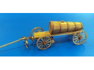 Hay wagon with wooden tank - 1:35e - Plus model - 428