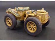 Pavesi P4 with tyres - 1:35e - Plus model - 475