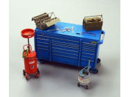 Garage equipment - 1:35e - Plus model - 497