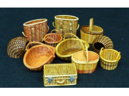 Wicker baskets-small - 1:35e - Plus model - 507