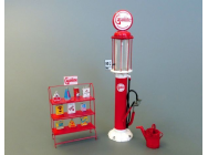 Gasoline stand - 1:35e - Plus model - 511