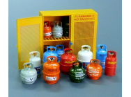 Gas bottles - 1:35e - Plus model - 518