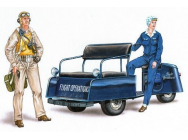 U.S. scooter with crew - 1:48e - Plus model - AL4027