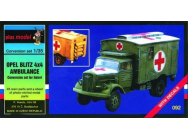 Opel Blitz 4x4 Krankenwagen - 1:35e - Plus model - 92