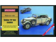 Skoda Typ 952 Kabrio WW II - 1:35e - Plus model - 100