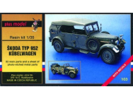 Kubelwagen Kfz 15 / Skoda 952 - 1:35e - Plus model - 103