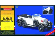 Sd.Kfz.21 Mercedes G4 - 1:35e - Plus model - 164
