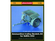 Sd. Anh. 32 Munitionsanhanger fur SdKfz. 252- 1:35e - Plus model - 178