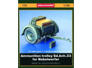 Sd. Anh. 33 Munitionsanhanger fur Nebelwerfer- 1:35e - Plus model - 179