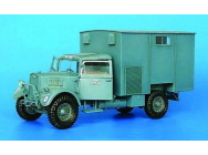 Britischer Lastwagen 11/2 t WOT 3 Workshop- 1:35e - Plus model - 199
