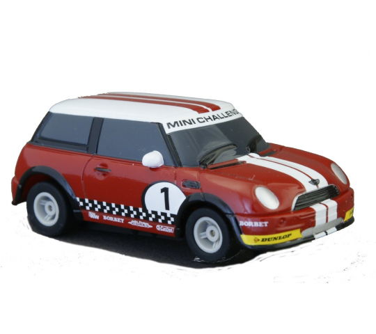 Mini Cooper Rouge - Scalextic - SCA-SCAG2139