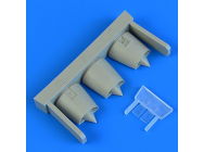 Mirage F.1 air intakes for Special Hobby - 1:72e - Quickboost - QB72 615