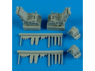 Su-27UB ejection seats w.safety belts - 1:48e - Quickboost - QB48 488