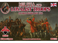 Militia+Loyalist Troops 1745,Jacobite R. - 1:72e - Red Box - RB72051