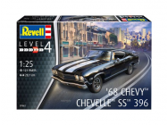 1968 Chevy Chevelle SS 396 - 1:25e - Revell - 7662