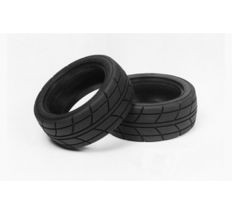 Pneus Super Grip radial 26mm Tamiya 1/10 - TAM-53214