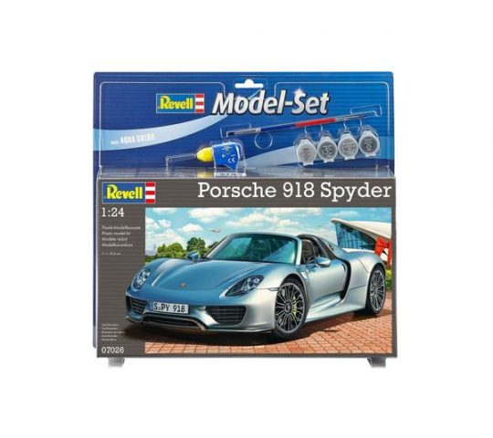 Model Set Porsche 918 Spyder - 1:24e - Revell - 67026