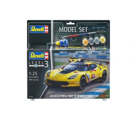 Model Set Corvette C7.R - 1:25e - Revell - 67036