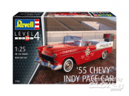 Model Set  55 Chevy Indy Pace Ca - 1:25e - Revell - 67686