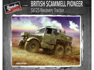 British Scammell Pioneer SV/2S Recovery Tractor- 1:35e - Thundermodels - 35201