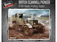 British Scammell Pioneer R100 artillery Tractor- 1:35e - Thundermodels - 35202
