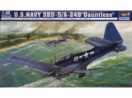 SBD-5/A-24B Dauntless US Navy - 1:32e - Trumpeter - 2243