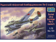 Dive Bomber Pe-2 (early series) - 1:72e - Unimodels - UM101