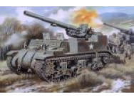 M12 U.S. 155mm self-propelled gun - 1:72e - Unimodels - UM211