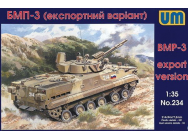 Soviet BMP-3 (export version) - 1:35e - Unimodels - UM234