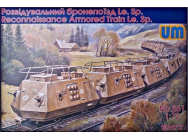 Reconnaissance armored train Le.Sp - 1:72e - Unimodels - UM261