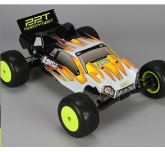LOSI 1/10 22T 2WD Stadium Truck RTR Brushless 2.4ghz - LOS-LOSB0123