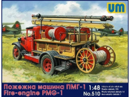 Fire engine PMG-1 - 1:72e - Unimodels - UM510