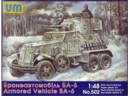 BA-6 Soviet armored vehicle - 1:48e - Unimodels - UM502