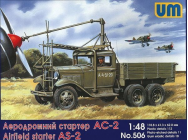 Airfield starter AS-2 on GAZ-AAA - 1:48e - Unimodels - UM506