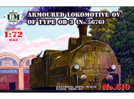 Armored locomotive OV of type OB-3 - 1:72e - Unimodels - UMT610