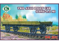 Two axle pilot car(9.2 meter long) - 1:72e - Unimodels - UMT615