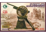3 inch gun,model 1902/ Limited edition - 1:35e - Unimodels - UMT626