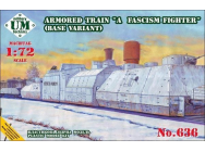 Armored train A Fascism Fighter, base v. - 1:72e - Unimodels - UMT636