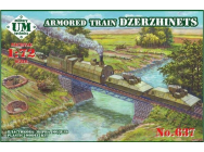 Armored train Dzerzhinets - 1:72e - Unimodels - UMT637