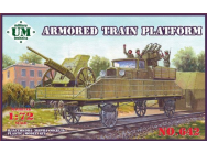 Armored train platform - 1:72e - Unimodels - UMT642