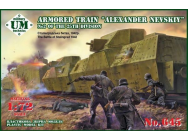 Armored train  Alexander Nevskiy No2 25t - 1:72e - Unimodels - UMT645