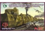 Armored train No1 Krasnoyarec´or No2 Yen - 1:72e - Unimodels - UMT647
