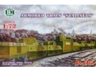 Armored train  Stalinets  - 1:72e - Unimodels - UMT665