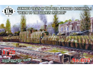 Death to the German Invaders Armored train of the 48th armored division#1- 1:72e - Unimodels - UMT672